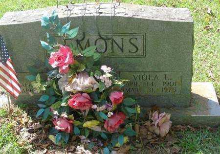 LEMONS, VIOLA L - Saline County, Arkansas | VIOLA L LEMONS - Arkansas Gravestone Photos