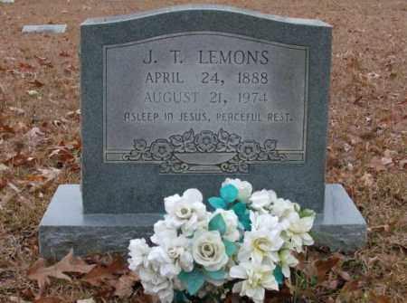 LEMONS, J.T. - Saline County, Arkansas | J.T. LEMONS - Arkansas Gravestone Photos