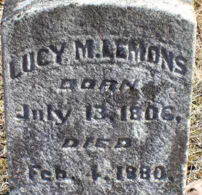 LEMONS, LUCY M - Saline County, Arkansas | LUCY M LEMONS - Arkansas Gravestone Photos