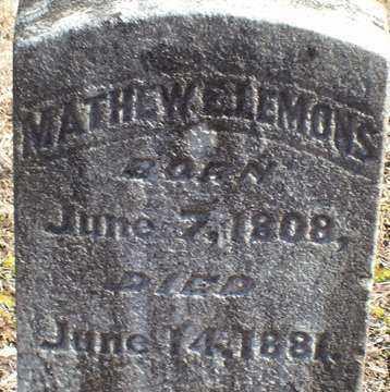 LEMONS, MATHEW - Saline County, Arkansas | MATHEW LEMONS - Arkansas Gravestone Photos