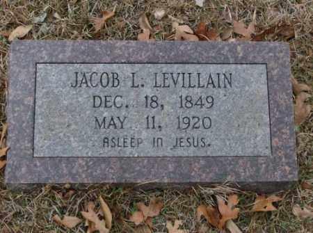 LEVILLAIN, JACOB L. - Saline County, Arkansas | JACOB L. LEVILLAIN - Arkansas Gravestone Photos