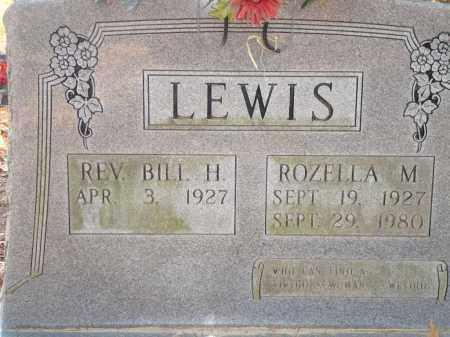 LEWIS, ROZELLA M - Saline County, Arkansas   ROZELLA M LEWIS - Arkansas Gravestone Photos