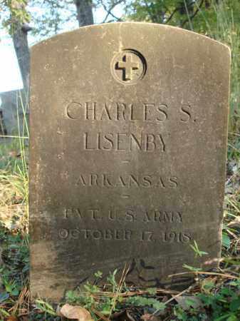 LISENBY (VETERAN), CHARLES S - Saline County, Arkansas | CHARLES S LISENBY (VETERAN) - Arkansas Gravestone Photos