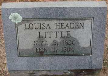 LITTLE, LOUISA - Saline County, Arkansas | LOUISA LITTLE - Arkansas Gravestone Photos
