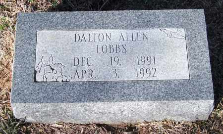 LOBBS, DALTON ALLEN - Saline County, Arkansas | DALTON ALLEN LOBBS - Arkansas Gravestone Photos