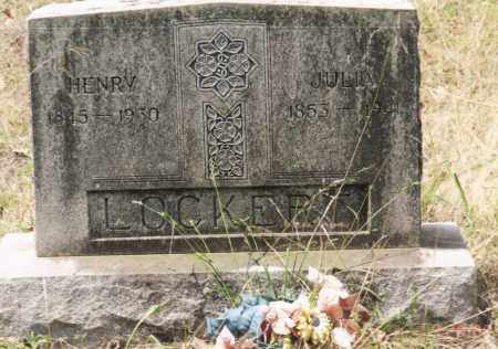 LOCKERT, HENRY - Saline County, Arkansas | HENRY LOCKERT - Arkansas Gravestone Photos