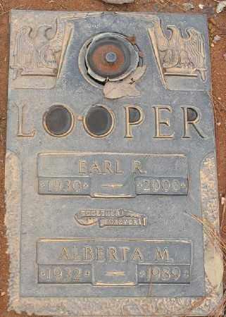LOOPER, EARL R. - Saline County, Arkansas | EARL R. LOOPER - Arkansas Gravestone Photos