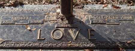 LOVE, RUSSELL - Saline County, Arkansas   RUSSELL LOVE - Arkansas Gravestone Photos