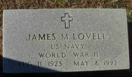 LOVELL (VETERAN WWII), JAMES M - Saline County, Arkansas | JAMES M LOVELL (VETERAN WWII) - Arkansas Gravestone Photos