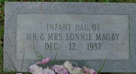 MAGBY, INFANT DAUGHTER - Saline County, Arkansas | INFANT DAUGHTER MAGBY - Arkansas Gravestone Photos