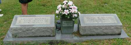 MAGBY, LONNIE - Saline County, Arkansas   LONNIE MAGBY - Arkansas Gravestone Photos