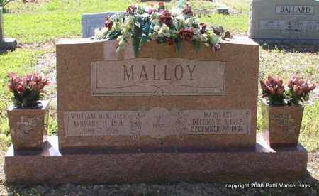 MALLOY, WILLIAM MCKINLEY - Saline County, Arkansas | WILLIAM MCKINLEY MALLOY - Arkansas Gravestone Photos
