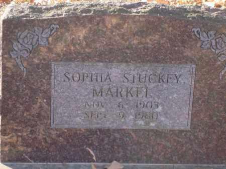 MARKEL, SOPHIA - Saline County, Arkansas | SOPHIA MARKEL - Arkansas Gravestone Photos