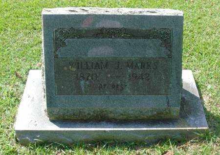 MARKS, WILLIAM J - Saline County, Arkansas   WILLIAM J MARKS - Arkansas Gravestone Photos