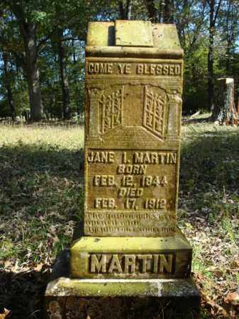 MARTIN, JANE I. - Saline County, Arkansas   JANE I. MARTIN - Arkansas Gravestone Photos