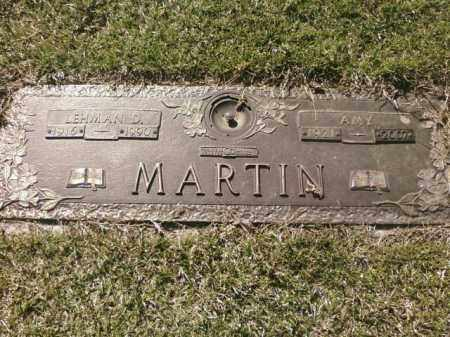 MARTIN, LEHMAN D. - Saline County, Arkansas   LEHMAN D. MARTIN - Arkansas Gravestone Photos