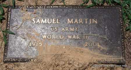 MARTIN (VETERAN WWII), SAMUEL - Saline County, Arkansas   SAMUEL MARTIN (VETERAN WWII) - Arkansas Gravestone Photos