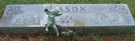 "MASON, L.H. ""PETE"" - Saline County, Arkansas | L.H. ""PETE"" MASON - Arkansas Gravestone Photos"