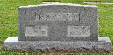 MAYNOR, PAULLEAN - Saline County, Arkansas | PAULLEAN MAYNOR - Arkansas Gravestone Photos