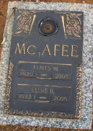 MCAFEE, ELOIS B. - Saline County, Arkansas | ELOIS B. MCAFEE - Arkansas Gravestone Photos