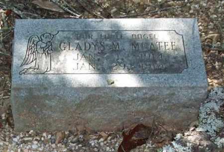 MCATEE, GLADYS M. - Saline County, Arkansas | GLADYS M. MCATEE - Arkansas Gravestone Photos