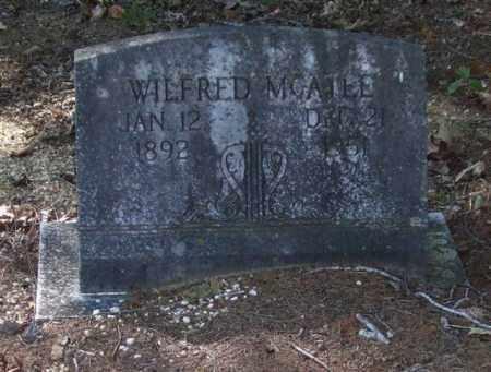 MCATEE, WILFRED - Saline County, Arkansas | WILFRED MCATEE - Arkansas Gravestone Photos