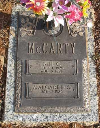 MCCARTY, BILL C. - Saline County, Arkansas   BILL C. MCCARTY - Arkansas Gravestone Photos