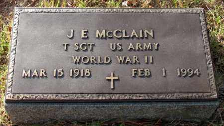 MCCLAIN (VETERAN WWII), J E - Saline County, Arkansas | J E MCCLAIN (VETERAN WWII) - Arkansas Gravestone Photos