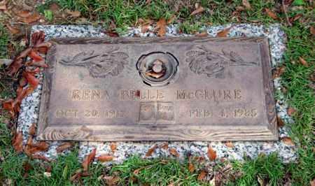 MCCLURE, RENA BELLE - Saline County, Arkansas | RENA BELLE MCCLURE - Arkansas Gravestone Photos