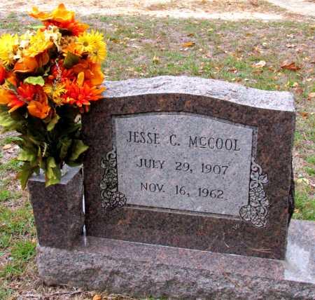 MCCOOL, JESSE C - Saline County, Arkansas | JESSE C MCCOOL - Arkansas Gravestone Photos