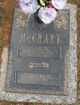 MCCRARY, JOHN M. - Saline County, Arkansas | JOHN M. MCCRARY - Arkansas Gravestone Photos