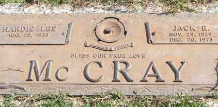 MCCRAY, JACK R. - Saline County, Arkansas | JACK R. MCCRAY - Arkansas Gravestone Photos