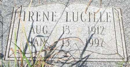 MCCUTCHEON, IRENE LUCILLE (CLOSEUP) - Saline County, Arkansas | IRENE LUCILLE (CLOSEUP) MCCUTCHEON - Arkansas Gravestone Photos