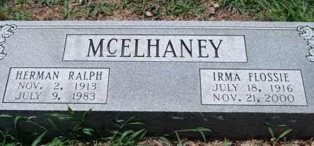 MCELHANEY, HERMAN RALPH - Saline County, Arkansas   HERMAN RALPH MCELHANEY - Arkansas Gravestone Photos