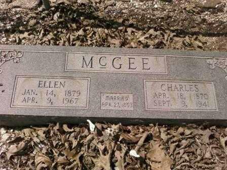 MCGEE, CHARLES - Saline County, Arkansas | CHARLES MCGEE - Arkansas Gravestone Photos