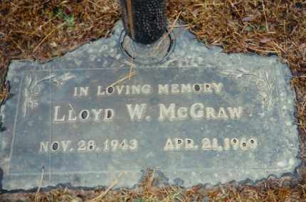 MCGRAW, LLOYD WILLIAM MCGRAW - Saline County, Arkansas | LLOYD WILLIAM MCGRAW MCGRAW - Arkansas Gravestone Photos