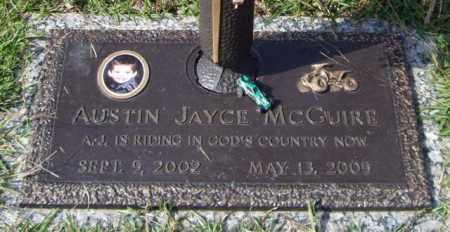 MCGUIRE, AUSTIN JAYCE - Saline County, Arkansas | AUSTIN JAYCE MCGUIRE - Arkansas Gravestone Photos
