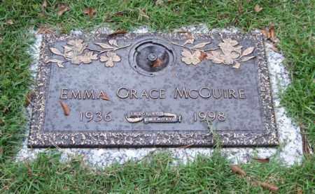 MCGUIRE, EMMA GRACE - Saline County, Arkansas | EMMA GRACE MCGUIRE - Arkansas Gravestone Photos