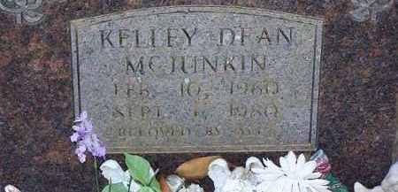 MCJUNKIN, KELLEY DEAN - Saline County, Arkansas | KELLEY DEAN MCJUNKIN - Arkansas Gravestone Photos