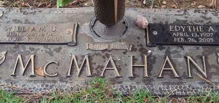 MCMAHAN, EDYTHE A. - Saline County, Arkansas | EDYTHE A. MCMAHAN - Arkansas Gravestone Photos