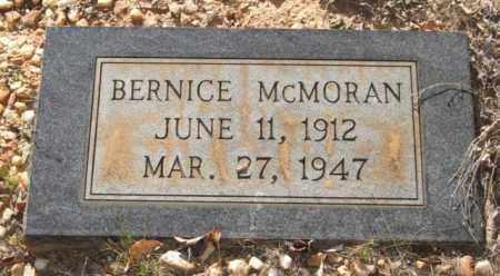 MCMORAN, BERNICE - Saline County, Arkansas | BERNICE MCMORAN - Arkansas Gravestone Photos