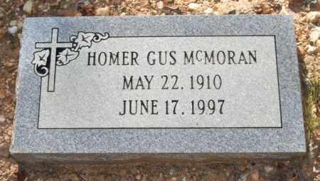 MCMORAN, HOMER GUS - Saline County, Arkansas | HOMER GUS MCMORAN - Arkansas Gravestone Photos