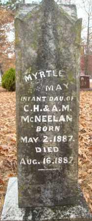 MCNEELAN, MYRTLE MAY - Saline County, Arkansas | MYRTLE MAY MCNEELAN - Arkansas Gravestone Photos