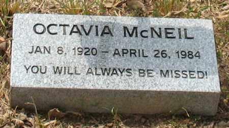 BOLT MCNEIL, OCTAVIA - Saline County, Arkansas   OCTAVIA BOLT MCNEIL - Arkansas Gravestone Photos