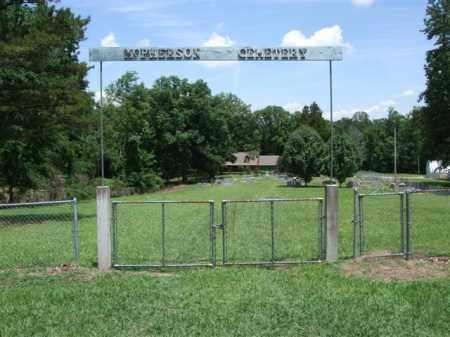 * MCPHERSON CEMETERY, GATE AND DIRECTIONS - Saline County, Arkansas | GATE AND DIRECTIONS * MCPHERSON CEMETERY - Arkansas Gravestone Photos