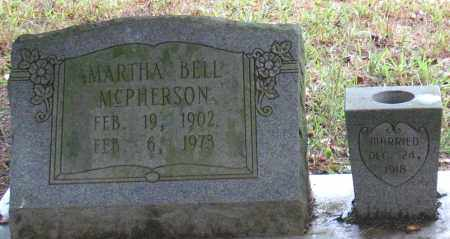 MCPHERSON, MARTHA BELL - Saline County, Arkansas | MARTHA BELL MCPHERSON - Arkansas Gravestone Photos