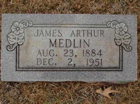 MEDLIN, JAMES ARTHUR - Saline County, Arkansas   JAMES ARTHUR MEDLIN - Arkansas Gravestone Photos