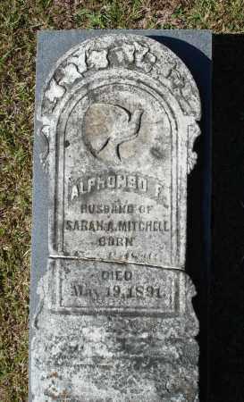 MITCHELL, ALPHONSO FRANKLIN - Saline County, Arkansas | ALPHONSO FRANKLIN MITCHELL - Arkansas Gravestone Photos