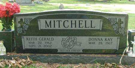 MITCHELL, KEITH GERALD - Saline County, Arkansas   KEITH GERALD MITCHELL - Arkansas Gravestone Photos