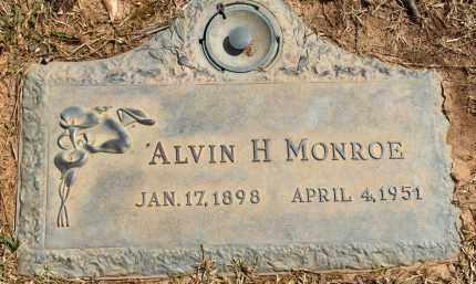 MONROE, ALVIN H. - Saline County, Arkansas | ALVIN H. MONROE - Arkansas Gravestone Photos